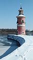 Leuchtturm am Großteich Moritzburg 02.JPG