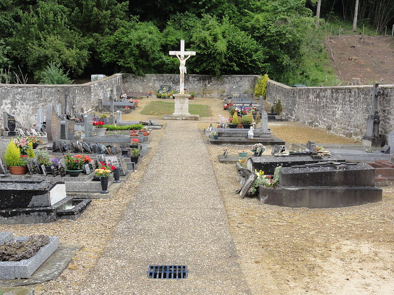 Leury (Aisne) cimetière