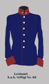 Leutnant im k.u.k. InfRgt 88.png