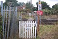 Level crossing on Thruxted Lane - geograph.org.uk - 1491822.jpg
