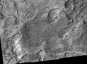 Amenthes quadrangle - Image: Libya Montes Region