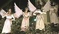 Life-Size Angel Christmas Decorations on Olympia Metro Church, Olympia, WA, USA, December 2009 - panoramio.jpg