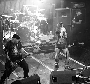 Life of Agony - Life of Agony performing at the 2009 Damnation Festival.