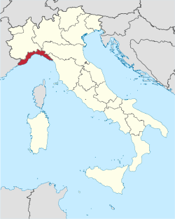 Liguria in Italy.svg