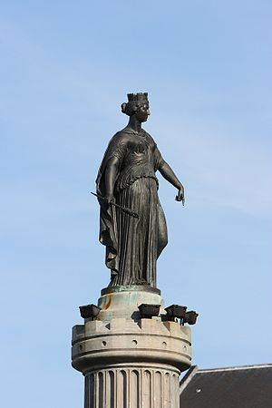 Siege of Lille (1792) - Column of the Goddess