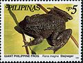 Limnonectes magnus 1999 stamp of the Philippines.jpg