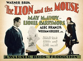 <i>The Lion and the Mouse</i> (1928 film) 1928 film