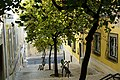 Lisbon typical street stairs (10334036624).jpg