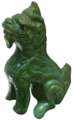 Little Greener Dragon - looking left - Museum of Asian Art of Corfu.png