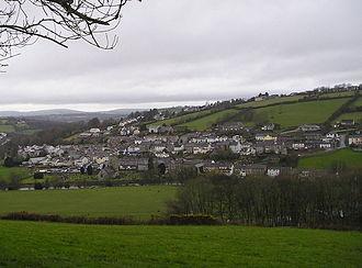 Llandysul - Image: Llandysul panorama