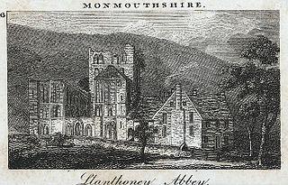 Llanthoney Abbey, Monmouthshire