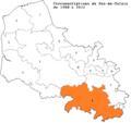 Localisation de la 1° circonscription du Pas-de-Calais (1988-2012).png