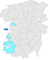 Localització de Valielles respecte Montmajor i respecte del Berguedà.PNG