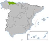 Asturiasen en España
