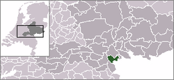 Location of Ubbergen