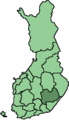 Location of Etelä-Savo in Finland.png