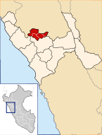 Location of the province Gran Chimú in La Libertad.svg