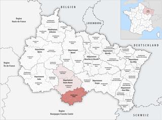 Arrondissement of Langres Arrondissement in Grand Est, France