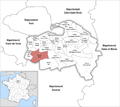 Locator map of Kanton Thiais.png