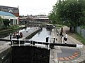 Lock on the Regent's Canal, west of Kentish Town Road, NW1 - geograph.org.uk - 1531005.jpg