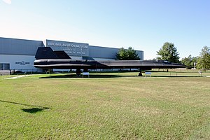 Virginia Aviation Museum - Image: Lockheed SR 71 Blackbird 01