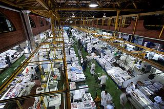 Billingsgate Fish Market fish market in Poplar in London, England