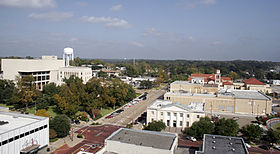 Downtown Longview, Texas, in 2008