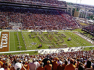 Longhorn Band Halftime -UT vs Texas A&M
