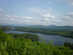 Loon Lake from Crusher Mountain