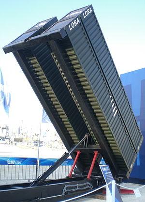 LORA (missile) - Quad LORA missile launcher