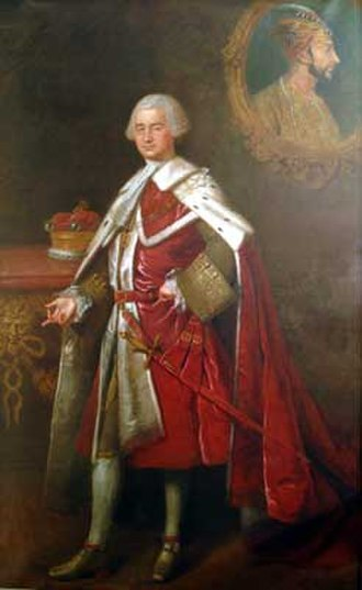 Robert Clive - Portrait by Charles Clive, c. 1764