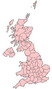 The Lieutenancy areas of the United Kingdom