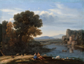 Lorrain - Mill on the Tiber, ca. 1650.png