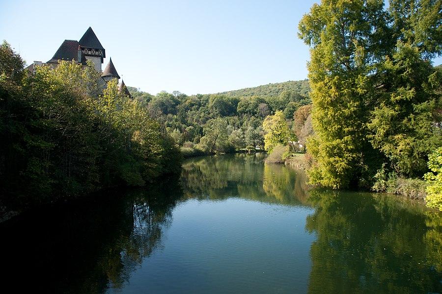 La Loue et le Château de Cléron.