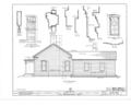 Louis Hammerschmidt House, 817 Charter Street, Monticello, Piatt County, IL HABS ILL,74-MONCEL,1- (sheet 2 of 4).png