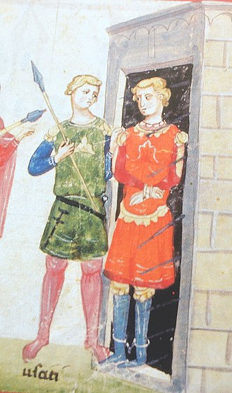 Louis I, Count of Nevers - Count Louis (right)