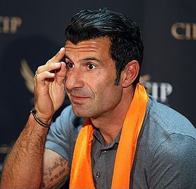 Luís Figo arriving at IKA Tehran Airport.jpg