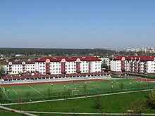 Lublin wrotkow osiedle nalkowskich i boisko szkolne 2008.jpg