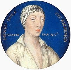 Henry Fitzroy, Duke of Richmond and Somerset (1519-36)