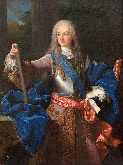 Luis I de España por Jean Ranc