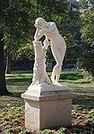 Méditation, statue de Tony Noël, jardin du Ranelagh, Paris 16e 3.jpg