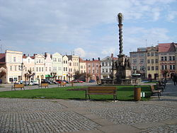 Peace Square with Marian Column