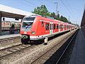 München- Bahnhof München-Laim- auf Bahnsteig zu Gleis 2- Richtung München Hauptbahnhof (S-Bahn München 423 614-7) 26.5.2012.JPG