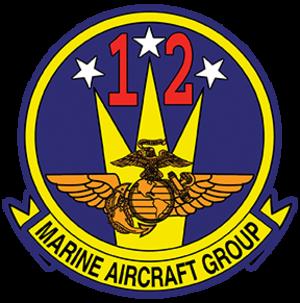 Marine Aircraft Group 12 - MAG-12 Insignia