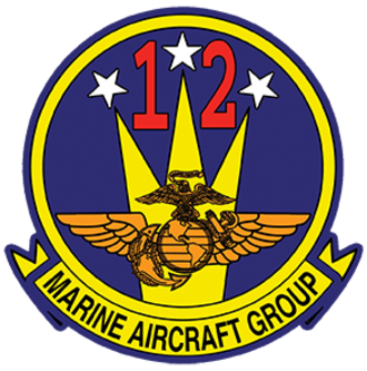 Marine Aircraft Group 12 - MAG-12 Insignia