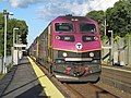 MBTA 2021 at Westborough station, September 2016.JPG