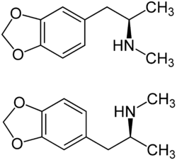 MDMA chemical structure