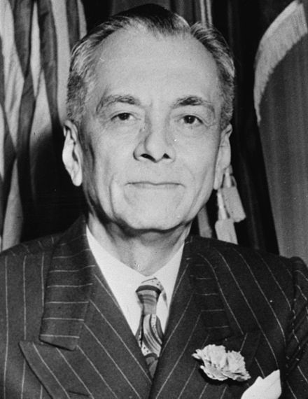 Manuel Luis Quezon, the first president of the Philippine Commonwealth, is officially recognized as the second President of the Philippines ML Quezon.jpg