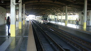 Magallanes MRT station - Image: MRT 3 Magallanes Station Platform 2