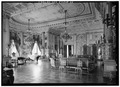 MUSIC ROOM WITH SOUTHWEST BAY FROM THE EAST - The Breakers, Ochre Point Avenue, Newport, Newport County, RI HABS RI,3-NEWP,67-27.tif